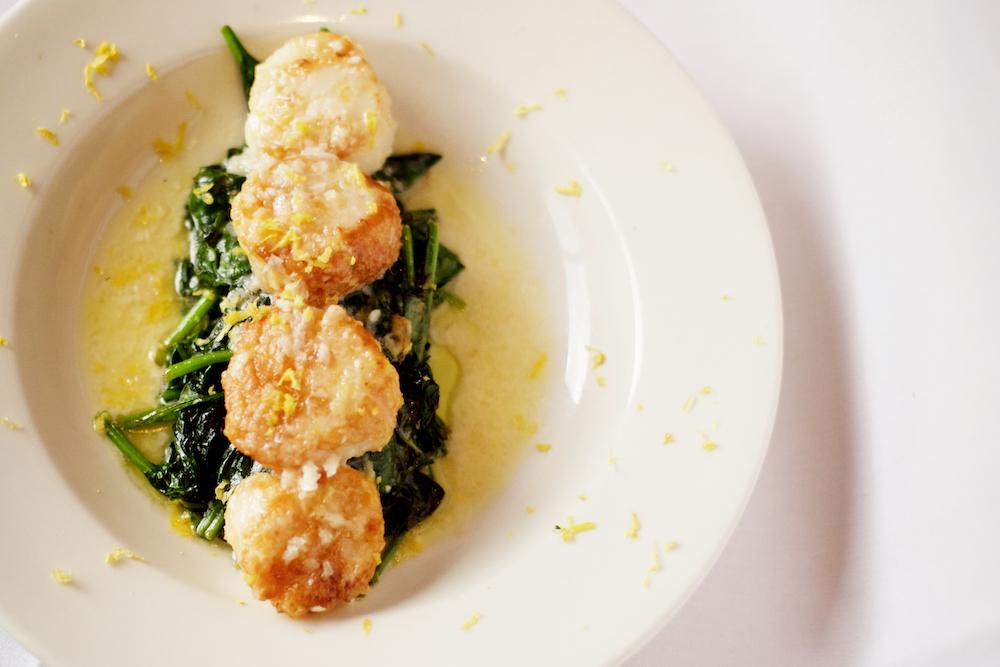 la-famiglia-reno-citrus-scallops-sauteed-spinach